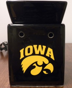 Iowa Hawkeye Tart Warmer