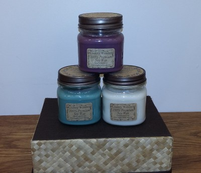 8 oz. Mason Jar Premium Soy Candles