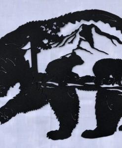 Bear cub scene