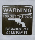 Warning Forget The Dog2