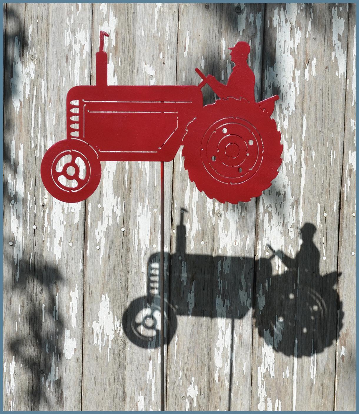 Tractor Yard Art